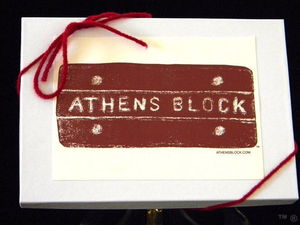 6 Athens Block Notecards