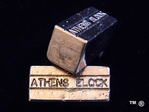 Athens Block Handmade Paperweights