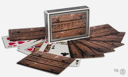 Athens Block Playing Cards
