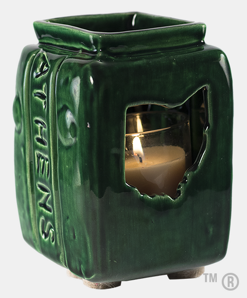 Athens Block Votive Candle