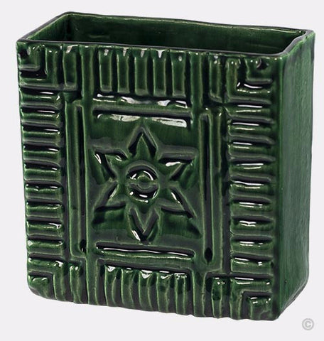 Starbrick Ceramic Letter Holder - Bobcat Green