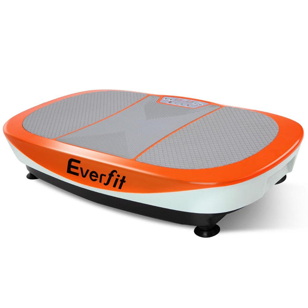 1200W Twin Motor Vibrating Plate Exercise Platform - Orange