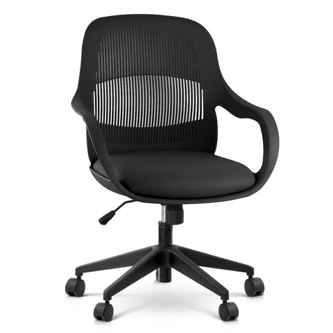 Modern Office Desk Chair  - Black