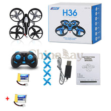 Newest JJRC H36 Mini Drone 6 Axis RC Micro Quadcopters With Headless Mode One Key Return Helicopter Vs H8 Dron Best Toys For Kid