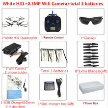 JJRC H31 Waterproof RC Drone With Camera Or No Cam Or Wifi Cam RC Quadcopter RC Helicopter Drones With Camera HD VS JJRC H37