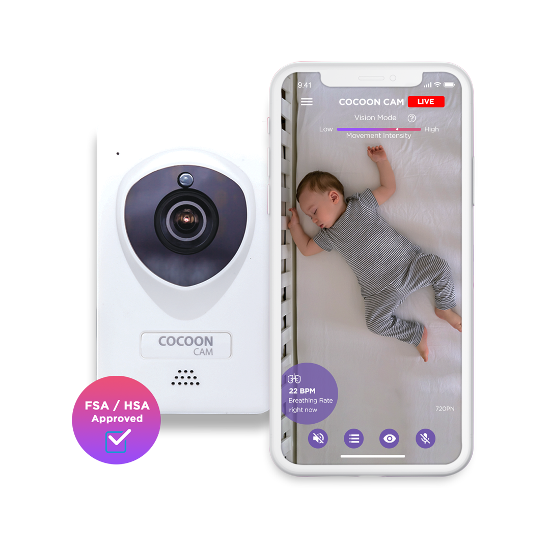 Cocoon Cam Baby Monitor - HD Video and Breathing Monitoring