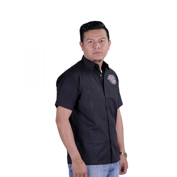 Head-Hunter Mechanic Shirt Black
