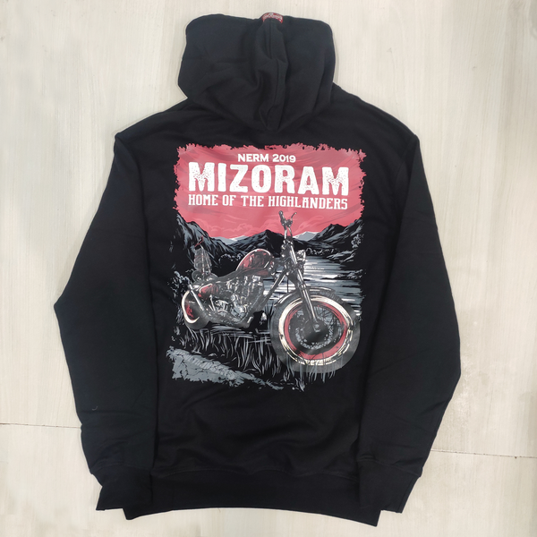 NERM 2019 OFFICIAL BLACK HOOD