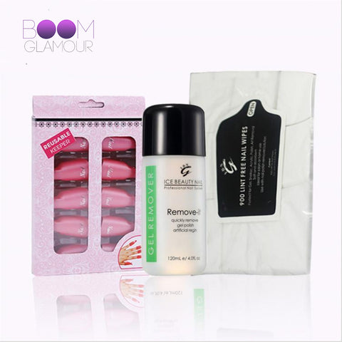 GLAM All Inclusive Nail Art Removal Set
