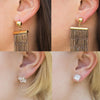 Image of 18K Gold Hypoallergenic Support Earring Backs
