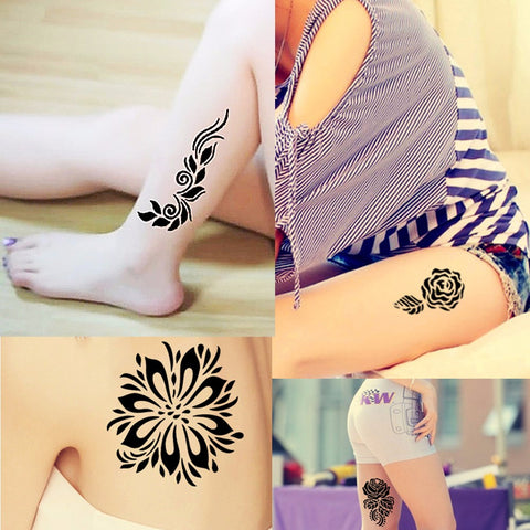1 Brown Temporary Henna Tattoo (Refills)