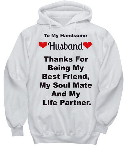 Best Gift For Husband In The Fall - Made In USA Hoddie