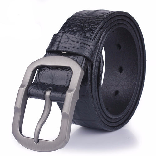 Crocodile Pattern Belt For Men