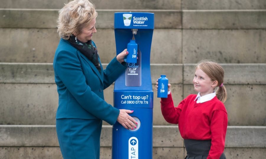 Scotland to Install Smart Top-Up Taps
