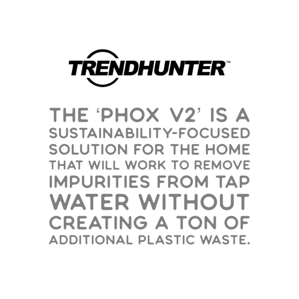 Trendhunter Eco-Friendly Water Filter