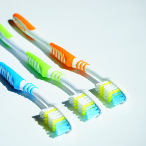 Toothbrush - alkaline water filter