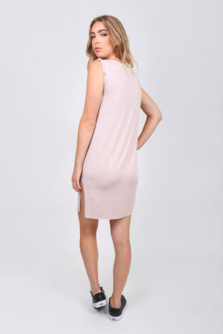 Asymmetrical Pick Up Tee Dress