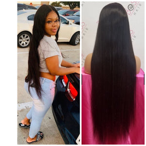 "32"" Lace Front - Straight 150% Density"