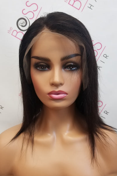 "10"" Straight - Bob 13x6 Frontal Lace Wig 150% Density"