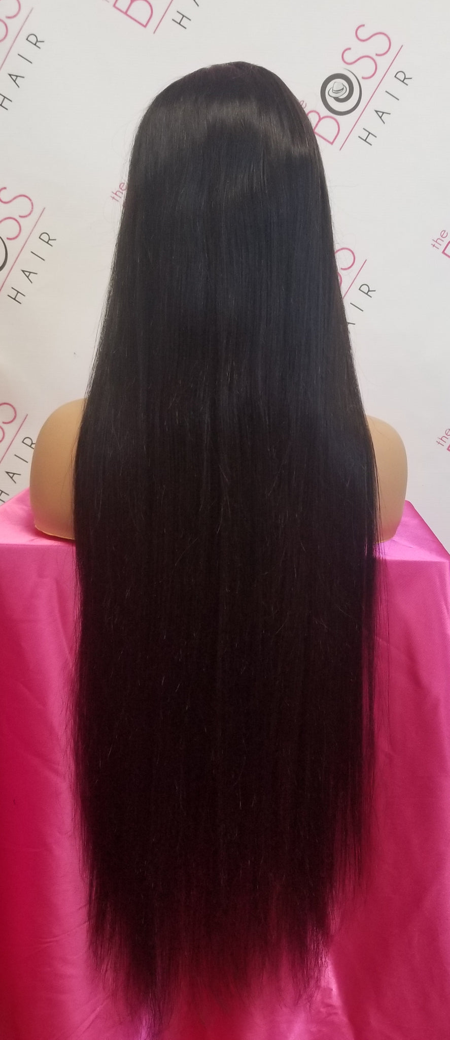 "30"" Frontal Lace Wig 13x4 - Straight 130% Density"