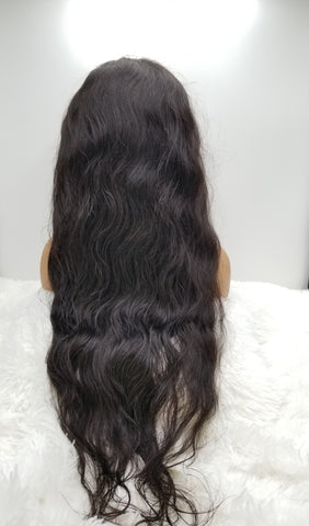 "PLATINUM GRADE HAIR 13x4 Frontal Lace Wig 28"" Body Wave 180% Density"