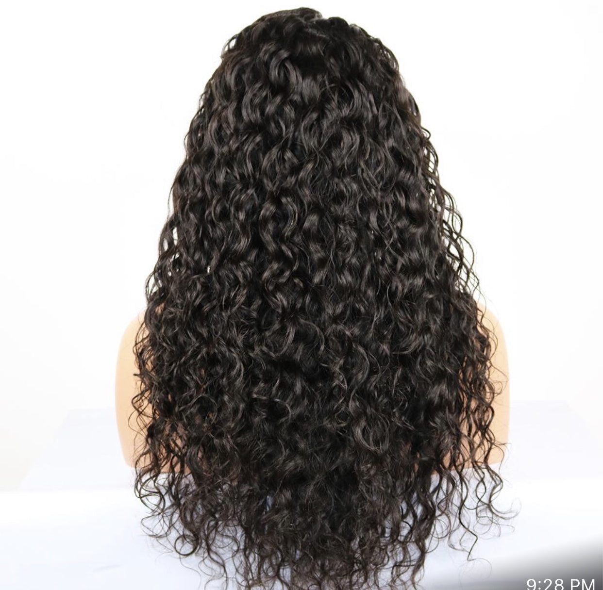 "22"" 13x6 Frontal Lace Wig - Loose Curly"