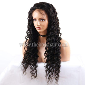 "18"" Full Lace - DEEP WAVE"