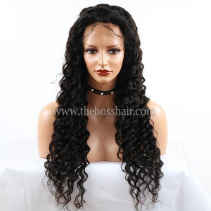 "16"" Full Lace DEEP WAVE 150% Density"