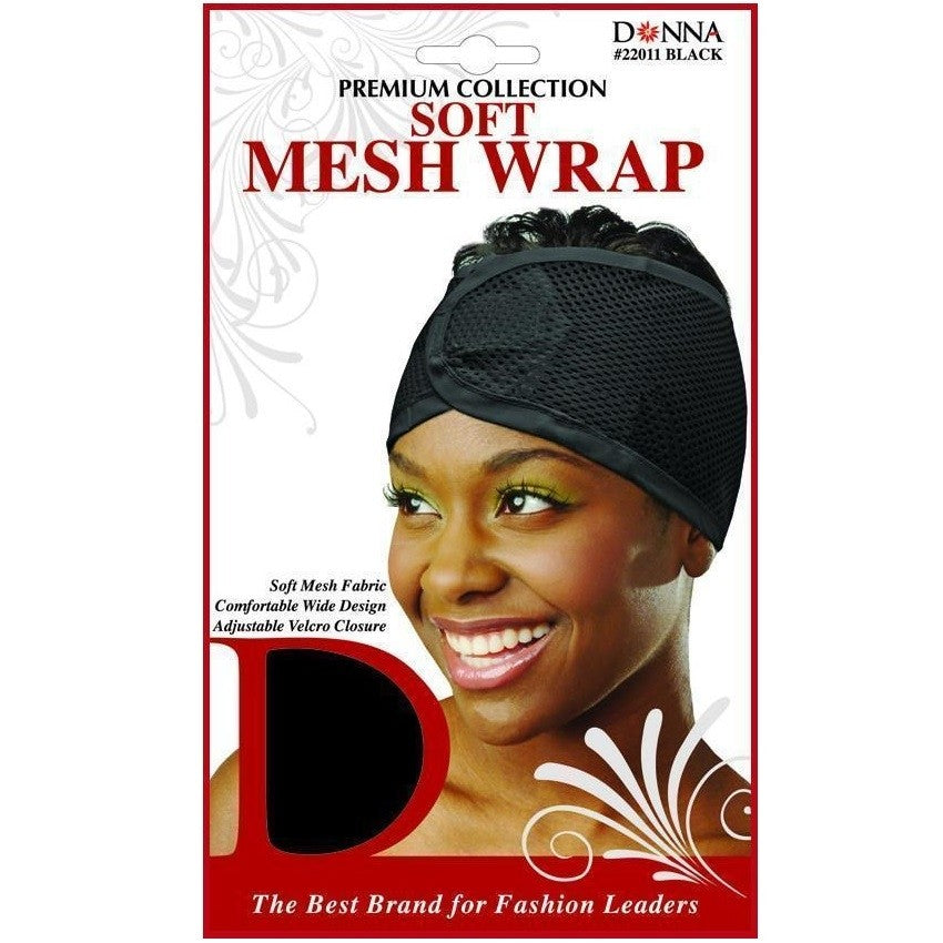 Soft Mesh Wrap, Soft Mesh Fabric, Comfortable Wide Design, Adjustable Velcro Closure