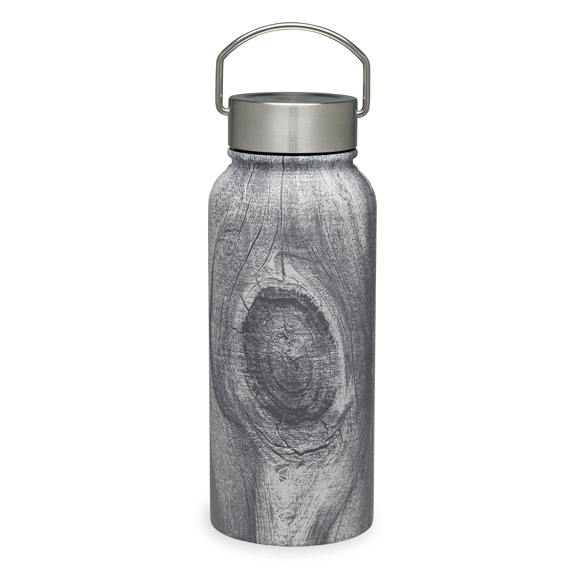 water bottle 20 oz Stainless steel silver wide mouth canteen NEW