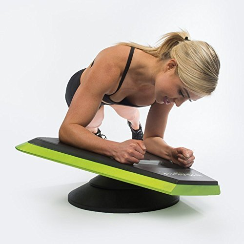 stealth core trainer spriwoman holding angled plank on stealth core trainer