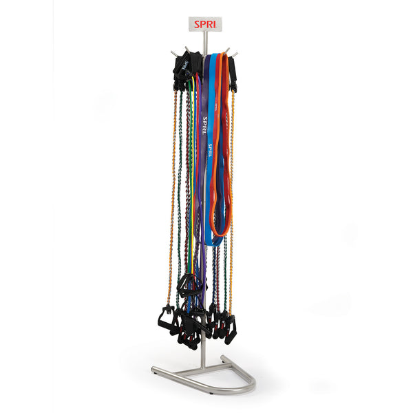 Exercise And Resistance Band Storage Racks Spri