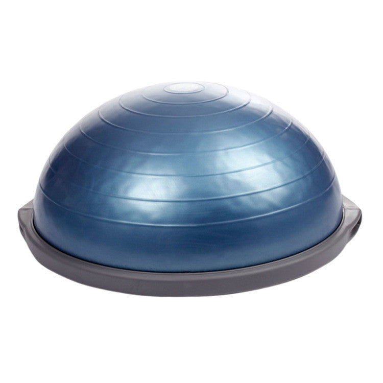 "Featuring the new, improved design and durability, the BOSU PRO Balance Trainer has a bladder weight of 8 pounds, a dually over-molded platform for extra strength, and a smooth, non-skid, non-marking base. Includes a training manual and DVD. The BOSU PRO Balance Trainer is new and improved and perfect for individuals who love bosu ball training along with improving strength and balance. Then not to mention, the new BOSU PRO is also very effective for rehabilitation and enhancing flexibility. Overall, an exceptional product with many uses that will aid in shaping a healthier, stronger, and more toned body. Quantity discounts are not applicable for BOSU® products. Measurements: 26"" x 26"" x 4""H."