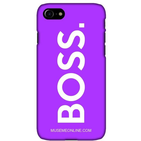"BOSS. Phone Case ""Purple"""
