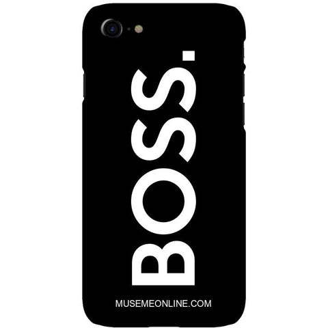 "BOSS. Phone Case ""Black"""