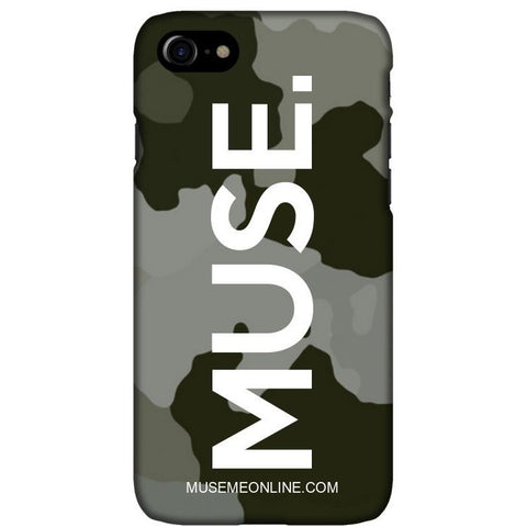 "MUSE. Camo Case ""Black x White"""
