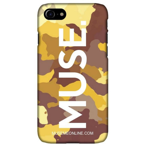 "MUSE. Camo Case ""Yellow"""