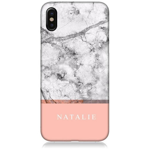 "Personalised Marble Case ""2-Tone"""
