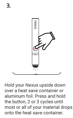 CLEANING YOUR NEXUS STEP 3