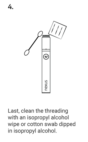 CLEANING YOUR NEXUS STEP 4