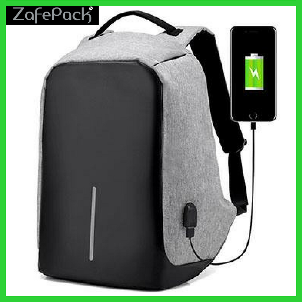 add6757039 ZafePack- Best Anti Theft USB Charging Travel Backpack – NICK S ...