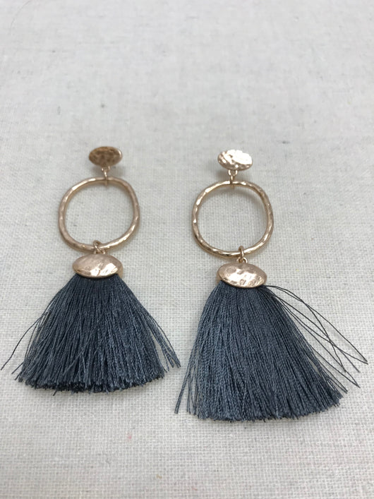 Hoop & Tassel Earrings