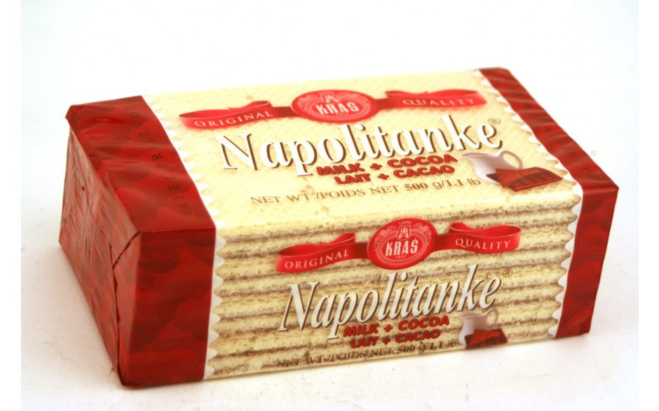 Kras Cocoa Milk Napolitanke Wafer