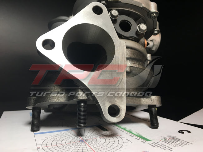 RHF55 Ported Turbine Housing VF39 VF43 VF48 VF52 - Turbo Parts Canada Inc.