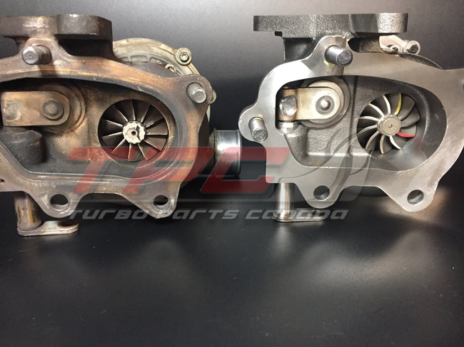 Rebuilt Subaru IHI VF39 VF43 VF48 Impreza WRX STI Turbocharger - Turbo Parts Canada Inc.
