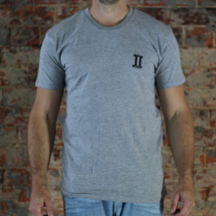 Grey marle small front large back