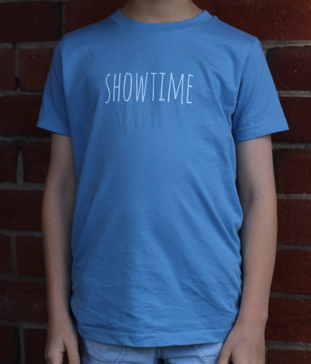 Light Blue SHOWTIME Kids T