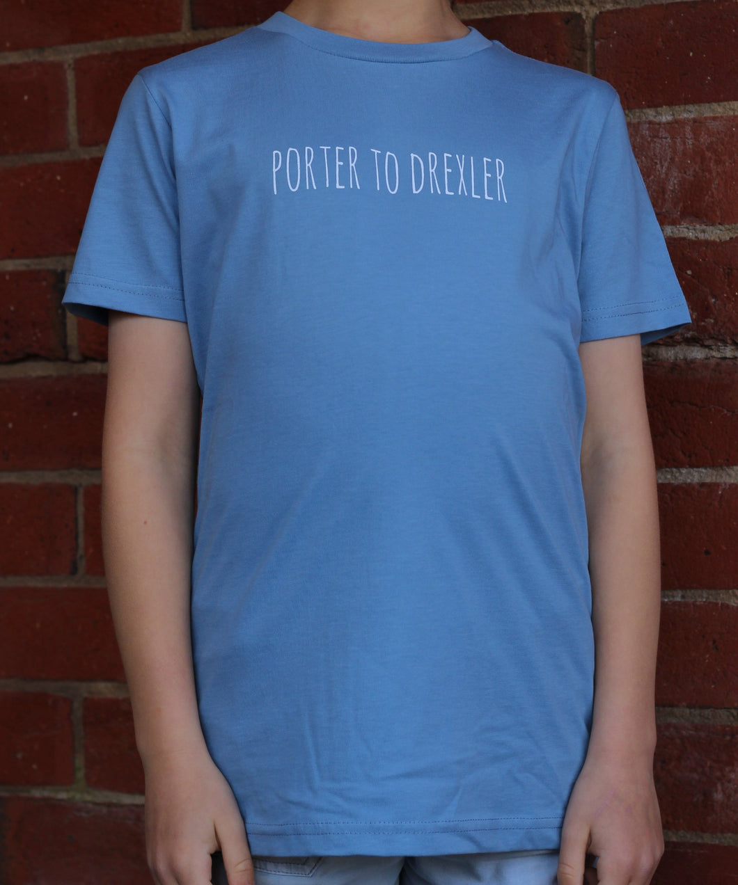 Light Blue  Porter to Drexler Kids T