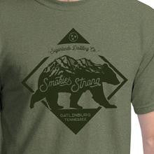 Smokies Strong Short Sleeve Shirt (Heather Military Green)