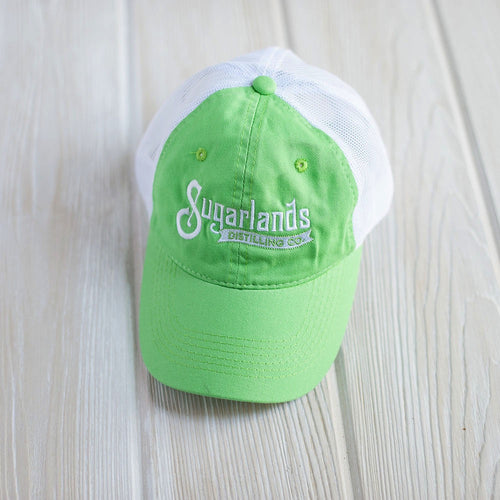 Lime Mesh Back Cap